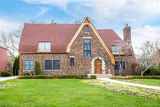 775 Berkshire Road, Grosse Pointe Park, MI 48230 (#2200062891) :: The Alex Nugent Team   Real Estate One