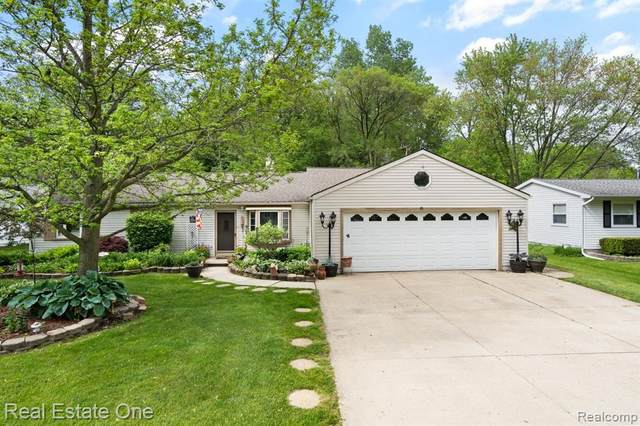 7427 Metz Drive, Shelby Twp, MI 48316 (#2200062909) :: The Alex Nugent Team | Real Estate One