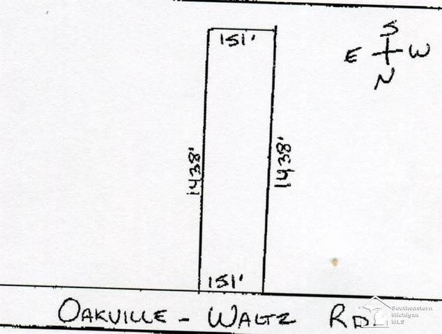 000 Oakville Waltz, Exeter Twp, MI 48111 (MLS #57050019794) :: The John Wentworth Group