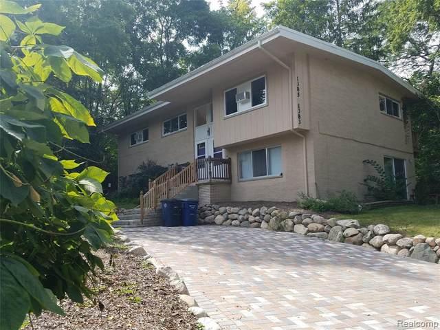 1383 Bemidji Drive, Ann Arbor, MI 48103 (MLS #2200063282) :: The Toth Team
