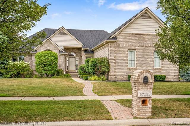 47153 Exworthy Court, Shelby Twp, MI 48315 (#2200063305) :: The Alex Nugent Team | Real Estate One