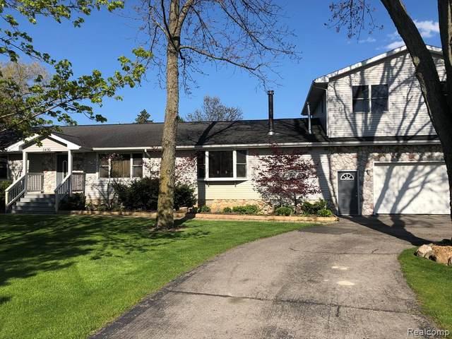 5436 N Dixboro Road, Salem Twp, MI 48105 (MLS #2200063323) :: The John Wentworth Group
