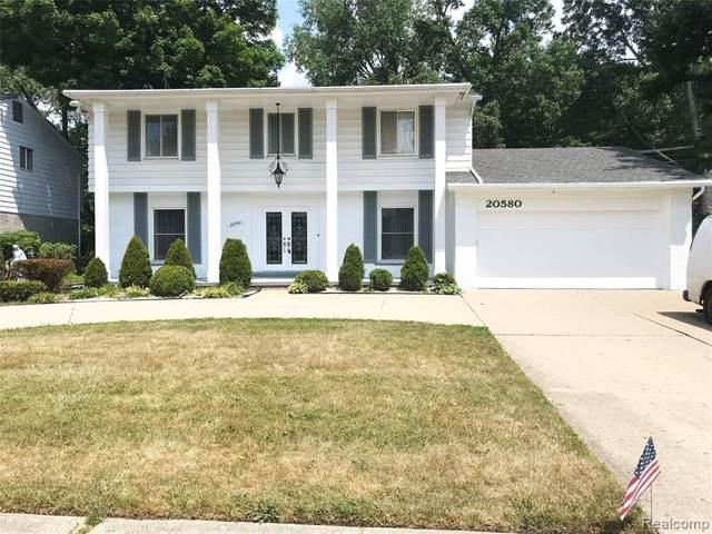 20580 Winchester Street, Southfield, MI 48076 (#2200063449) :: The Alex Nugent Team | Real Estate One