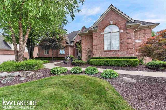 54048 Birchfield, Shelby Twp, MI 48316 (#58050019955) :: The Alex Nugent Team | Real Estate One