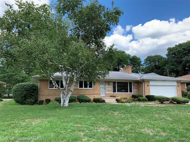 18422 Greenwald Drive, Southfield, MI 48075 (#2200063508) :: The Alex Nugent Team | Real Estate One