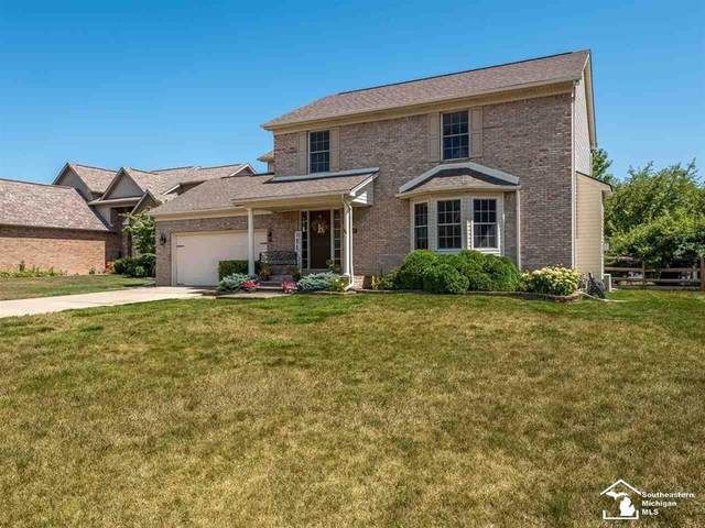 14392 Canterbury Lane, Monroe Twp, MI 48161 (#57050019963) :: Novak & Associates