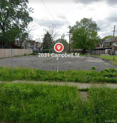 2031 Campbell, Detroit, MI 48209 (MLS #2200063669) :: The Toth Team