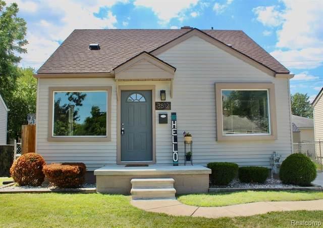 3812 21ST Street, Wyandotte, MI 48192 (#2200063682) :: GK Real Estate Team