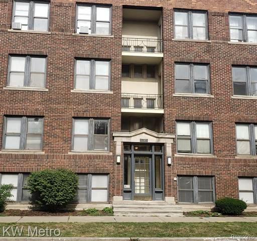 7750 Third Avenue #103, Detroit, MI 48202 (#2200063805) :: The Alex Nugent Team | Real Estate One