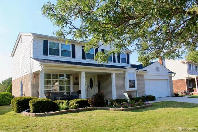 18100 Brentwood Drive, Riverview, MI 48193 (MLS #2200063812) :: The John Wentworth Group