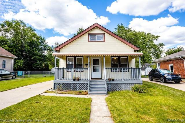 153 Spencer St, Ferndale, MI 48220 (#2200063853) :: RE/MAX Nexus
