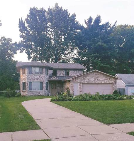 6075 Stacy Ave, Sterling Heights, MI 48314 (#58050020131) :: The Alex Nugent Team   Real Estate One
