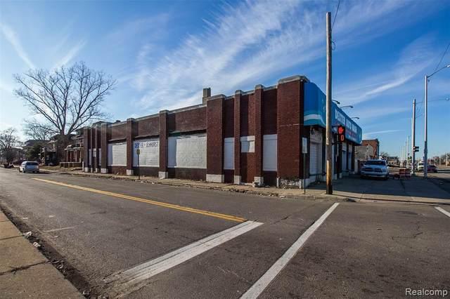 12005 Dexter Avenue, Detroit, MI 48206 (#2200064779) :: Alan Brown Group