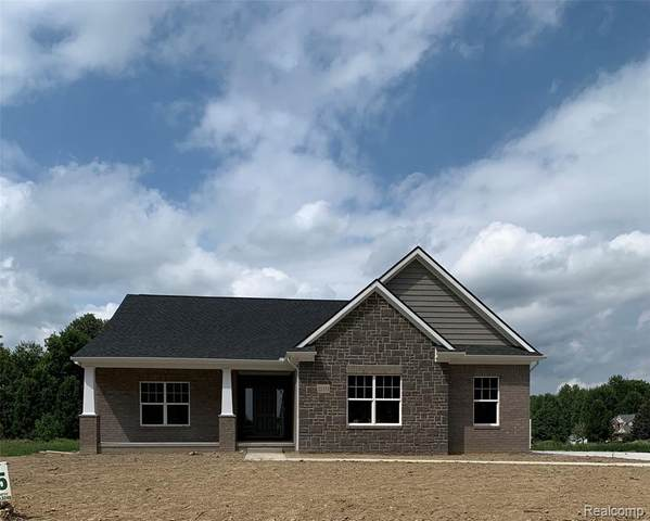 21561 Hasenclever Drive, Lyon Twp, MI 48178 (MLS #2200064791) :: The Toth Team