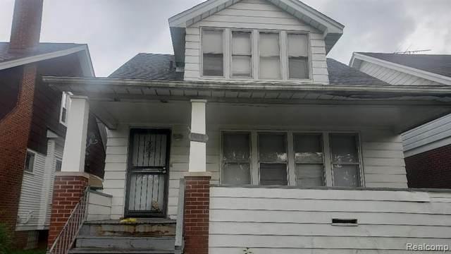 14022 Glenwood Street, Detroit, MI 48205 (#2200064849) :: Alan Brown Group