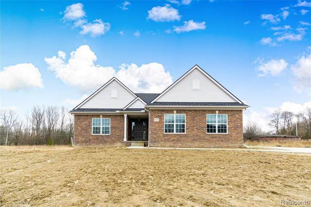 21425 Hasenclever Drive, Lyon Twp, MI 48178 (MLS #2200064971) :: The Toth Team