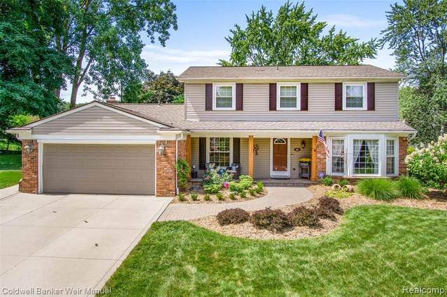 1663 Yale Court, Rochester Hills, MI 48309 (#2200065562) :: The BK Agency