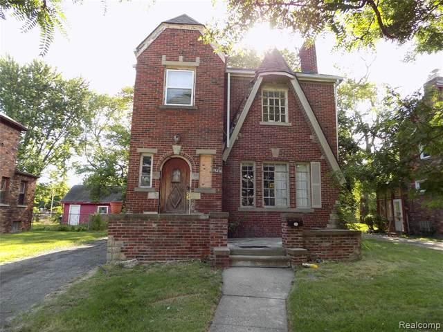 15436 Winthrop Street, Detroit, MI 48227 (#2200065613) :: The BK Agency