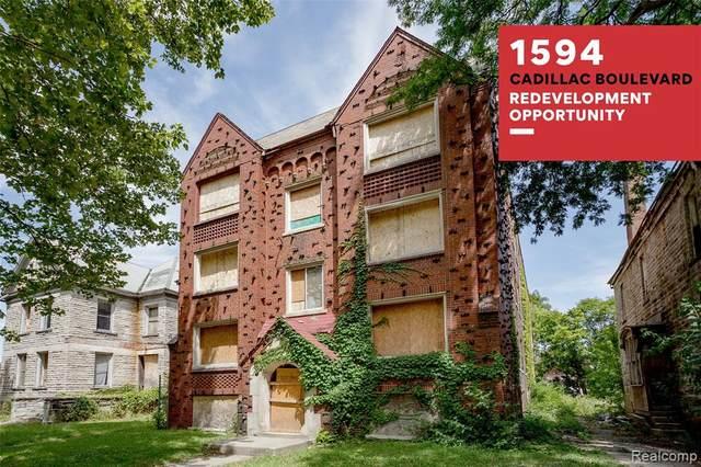 1594 Cadillac Boulevard, Detroit, MI 48214 (#2200066036) :: The BK Agency