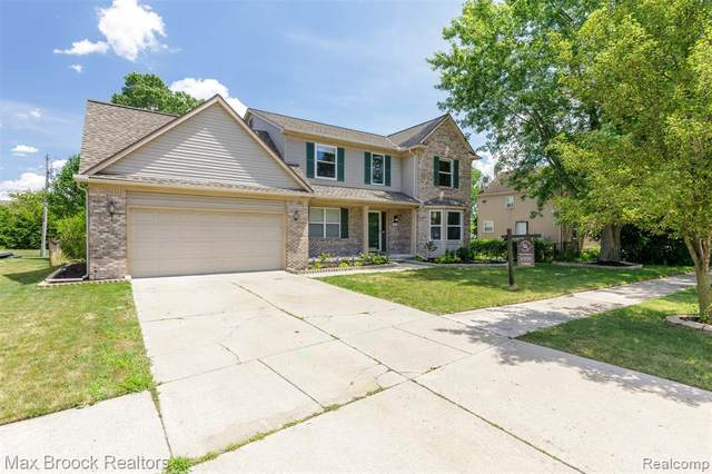43432 Nowland Drive, Canton Twp, MI 48188 (#2200066042) :: The BK Agency