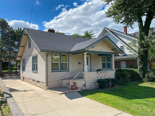 822 Oakwood Boulevard, Dearborn, MI 48124 (#2200067544) :: Novak & Associates