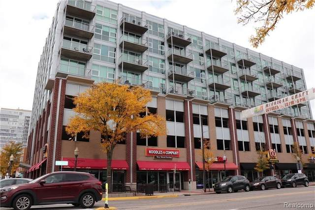 100 W 5TH ST APT 811, Royal Oak, MI 48067 (#2200068290) :: The Mulvihill Group
