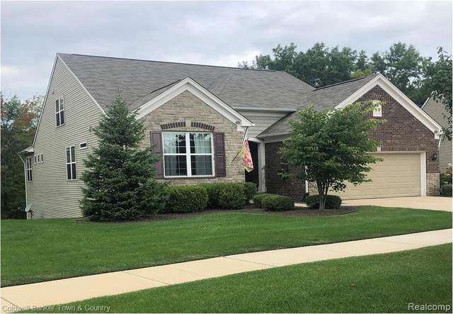 577 Acadia Court, Howell, MI 48843 (MLS #2200068385) :: The John Wentworth Group