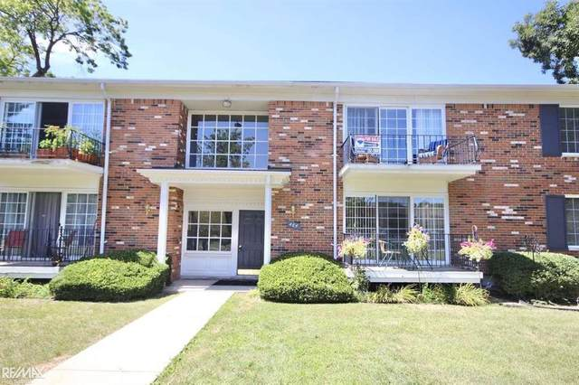484 Fox Hills Dr. N #6, Bloomfield Hills, MI 48304 (#58050021358) :: GK Real Estate Team