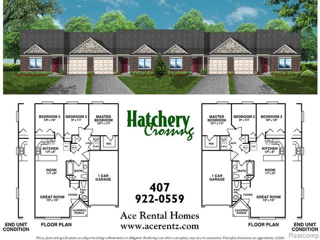 2489 Hatchery Crossing Drive, Waterford Twp, MI 48329 (MLS #2200068635) :: The John Wentworth Group