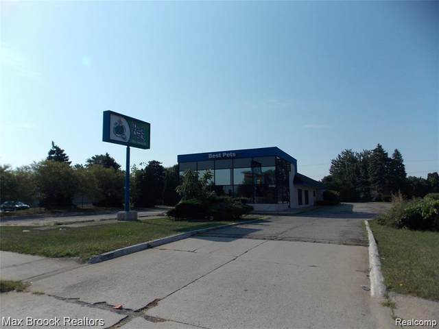 5580 E 12 MILE Road, Warren, MI 48092 (#2200068979) :: The BK Agency