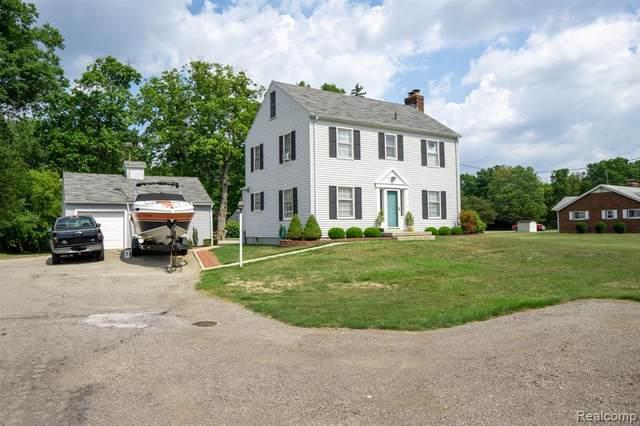 22395 Hall Road, Macomb Twp, MI 48042 (#2200069352) :: GK Real Estate Team