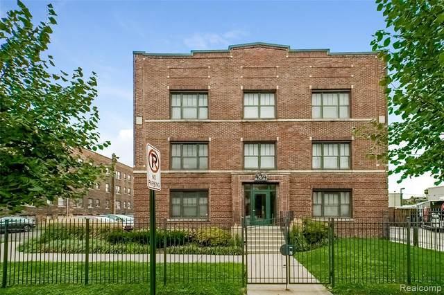 434 W Alexandrine Street #206, Detroit, MI 48201 (#2200070503) :: The BK Agency