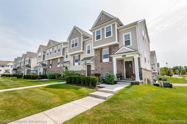 3155 Chambers West Lane W, Wixom, MI 48393 (#2200070721) :: Alan Brown Group