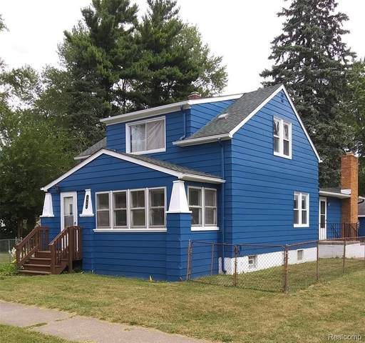 19404 Seminole Street, Redford Twp, MI 48240 (#2200070831) :: Novak & Associates