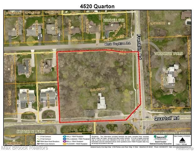 4520 Quarton Road, Bloomfield Twp, MI 48302 (#2200071959) :: Novak & Associates