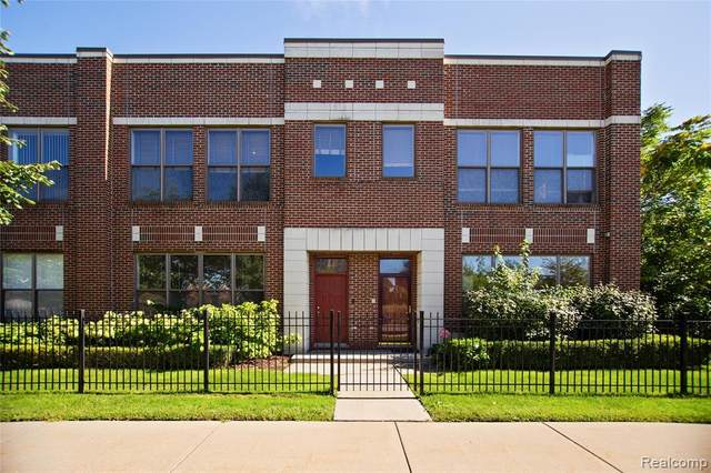 61 Pallister Street, Detroit, MI 48202 (#2200072353) :: GK Real Estate Team