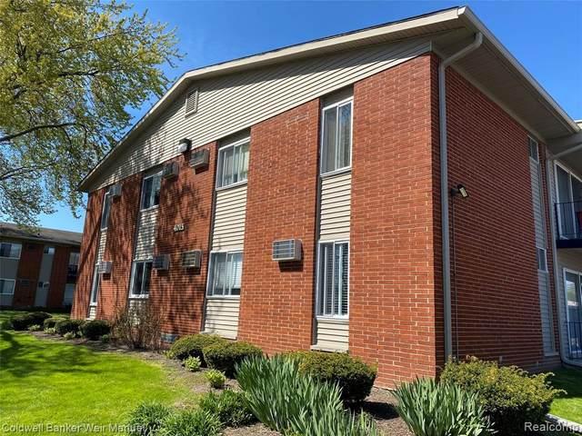 4015 Benjamin Ave Apt 7 #7, Royal Oak, MI 48073 (#2200072459) :: The BK Agency