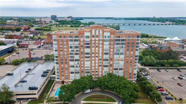 250 E Harbortown Drive #610, Detroit, MI 48207 (#2200072684) :: Alan Brown Group
