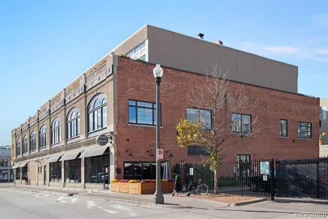 3100 Woodward Avenue #206, Detroit, MI 48201 (MLS #2200072932) :: The Toth Team