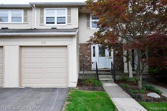 1687 Brentwood Drive, Troy, MI 48098 (#2200073108) :: Duneske Real Estate Advisors