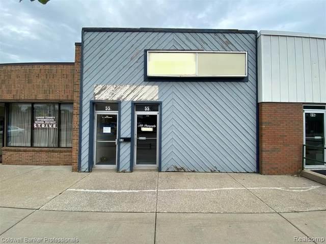 55 W Nepessing Street, Lapeer, MI 48446 (#2200073254) :: The Mulvihill Group