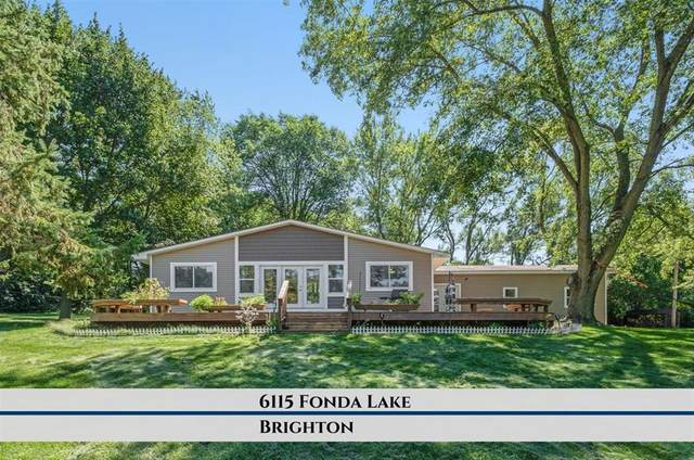 6115 Fonda Lake Drive, Green Oak Twp, MI 48116 (#543276022) :: The Mulvihill Group
