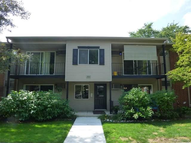 3921 Benjamin Ave Apt 6, Royal Oak, MI 48073 (#2200073502) :: The BK Agency