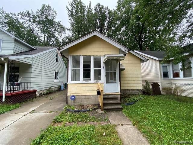 50 E Hayes Avenue, Hazel Park, MI 48030 (#2200073653) :: The Mulvihill Group