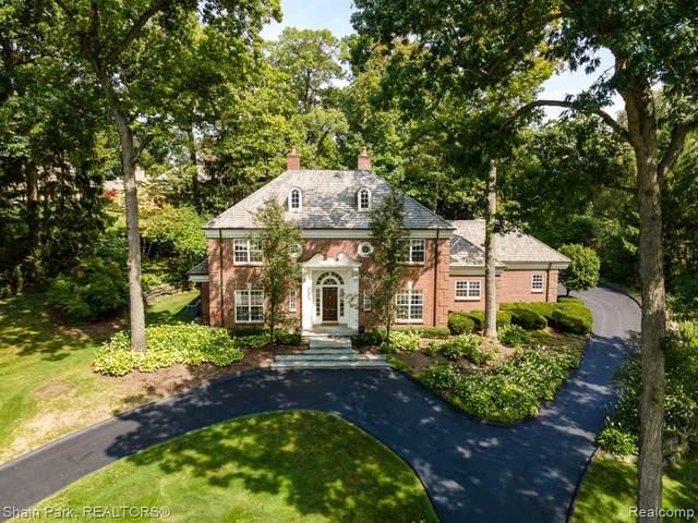 626 Yarboro Drive, Bloomfield Hills, MI 48304 (#2200073741) :: Duneske Real Estate Advisors