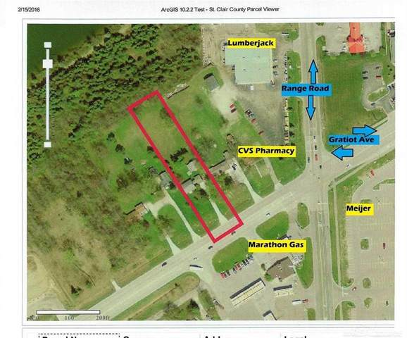 4570 Gratiot Rd, Kimball Twp, MI 48074 (#58050023008) :: The Alex Nugent Team | Real Estate One