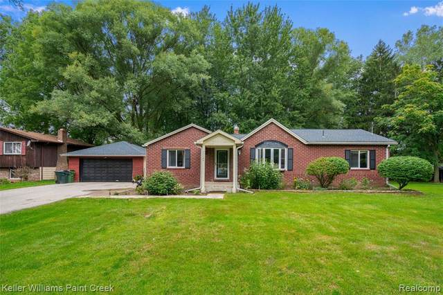 11145 25 MILE Road, Shelby Twp, MI 48315 (#2200074525) :: The BK Agency