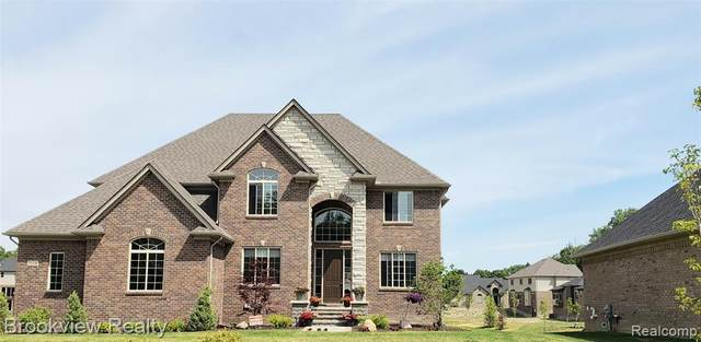 54019 Lawson Creek Drive, Shelby Twp, MI 48316 (#2200075389) :: BestMichiganHouses.com
