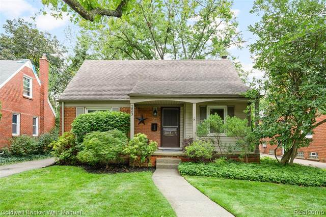 2803 N Connecticut Ave, Royal Oak, MI 48073 (#2200075736) :: The Mulvihill Group