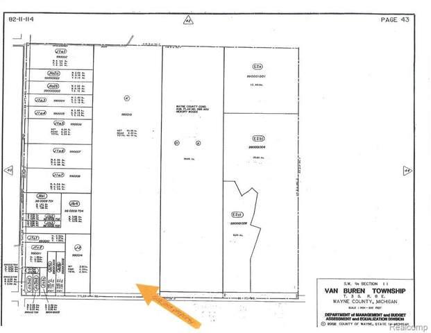 0000 Tyler Road, Van Buren Twp, MI 48111 (#2200075918) :: Keller Williams West Bloomfield